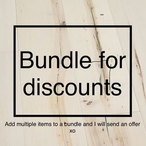 Multiple item discounts 🌸